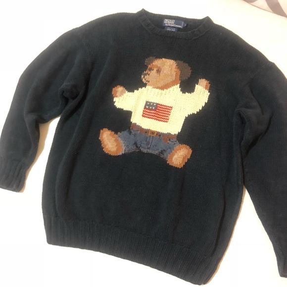 Teddy Lauren Polo Ralph Bear Sweater hQdtsCrx